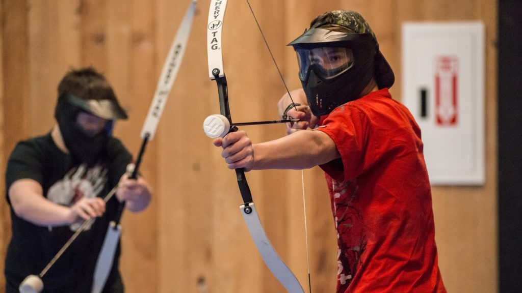 Men's Archery Tag
