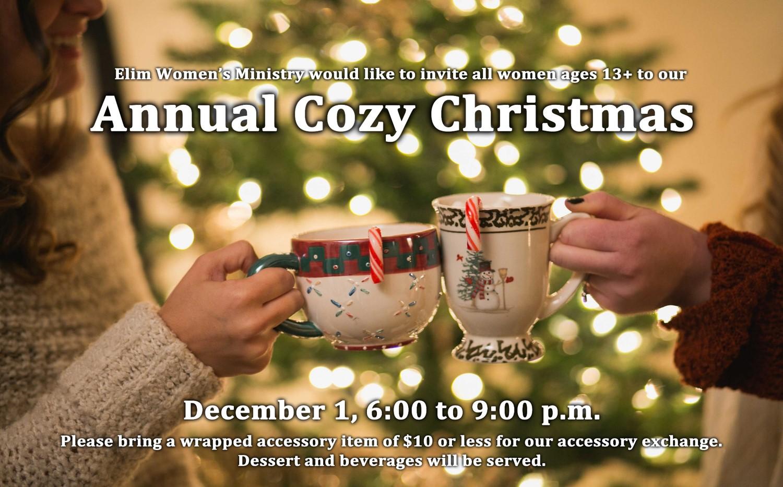 Women's Cozy Christmas