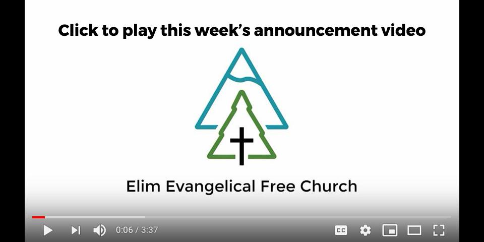 Elim Evangelical Free Church, Puyallup, Washington – Elim